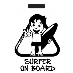 Surfer on Board