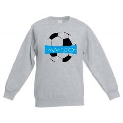 Futbol, sudadera personalizada