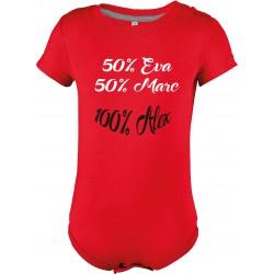 50% mama 50% papa 100% bebe