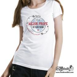 mejor profe camiseta