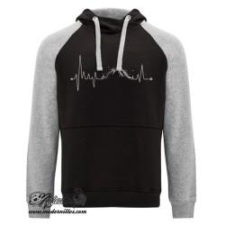 montaña electrocardiograma