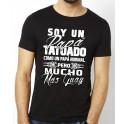 Camiseta Papa Tatuado